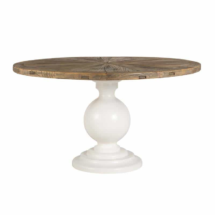 table pied central